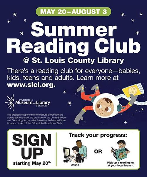 SLCL Summer Reading Club