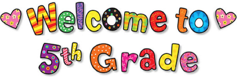 Image result for welcome to 5th grade