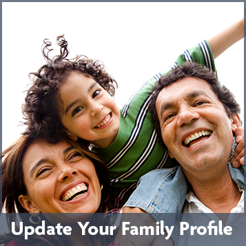 Update Your Family Profile
