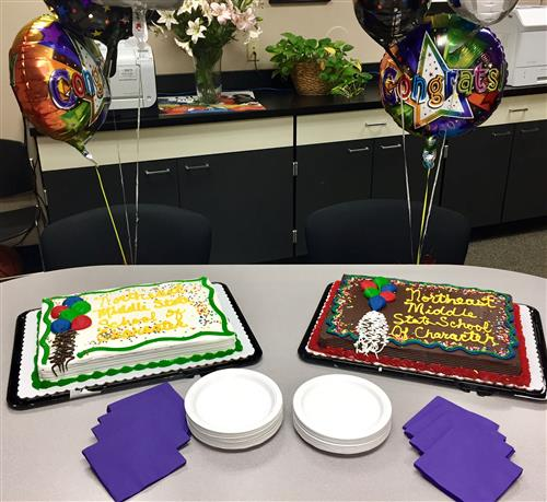 Cakes for MO School of Character