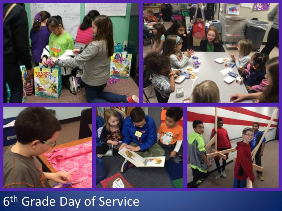 6th Grade Day of Service