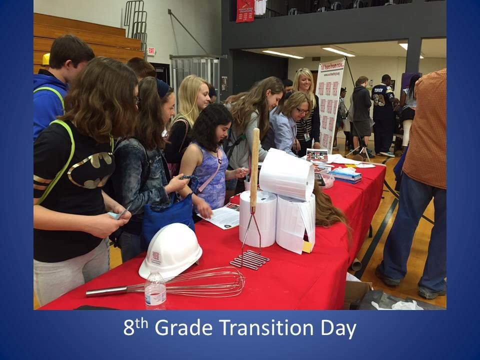 8th Grade Transition Day