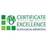 Parkway awarded certificate of excellence in financial reporting