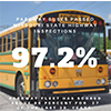 Parkway buses score 97.2 percent on annual inspection