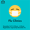 Parkway will be offering Visiting Nurse Association flu clinics