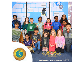 Henry Elementary students