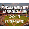 Parkway family day at Busch Stadium
