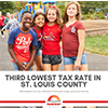 Parkway has third lowest tax rate in county