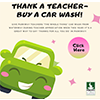 Thank a teacher -- buy a car wash