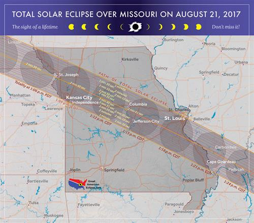 Solar eclipse coming to St. Louis in August