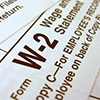 Look for your W-2 in the mail