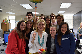 Sarah Lueken, Central High, Parkway District Teacher of the Year