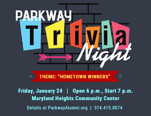 Gather 8 of your friends for Parkway Trivia Night!