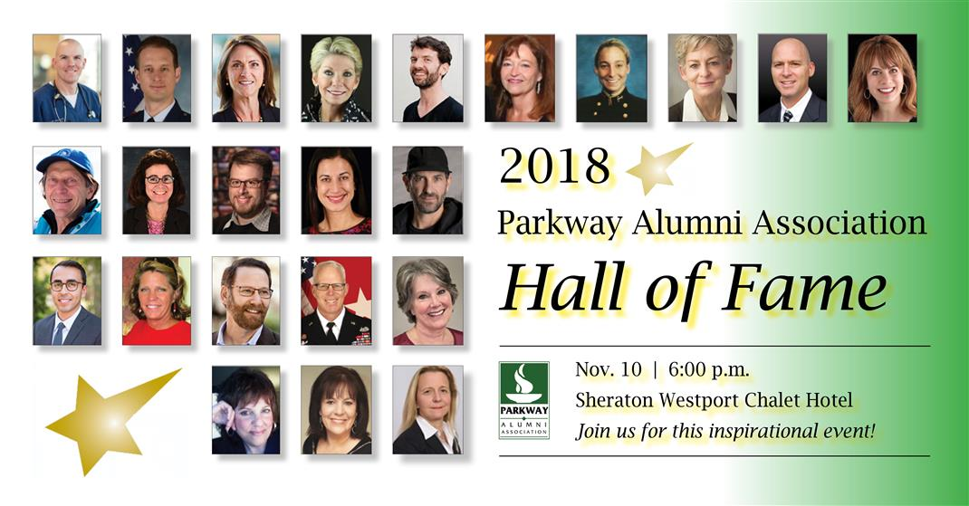 Alumni association parkway alumni association homepage 2018 parkway alumni hall of fame maxwellsz